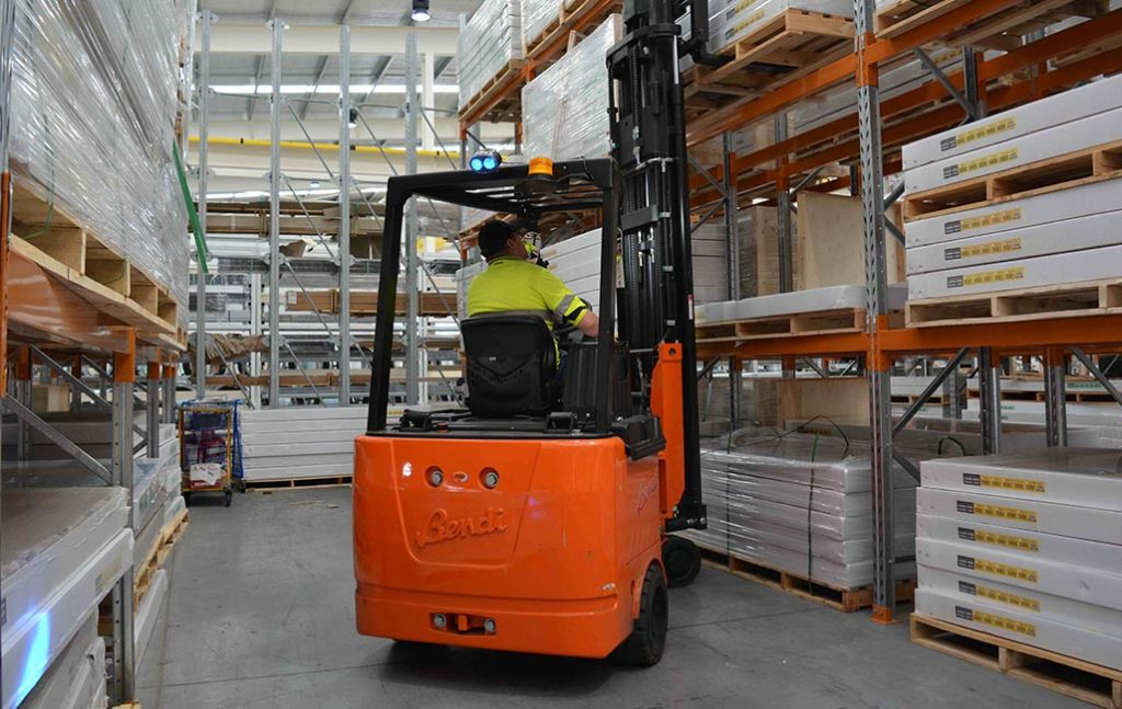 Bendi Articulated Forklift Gallery