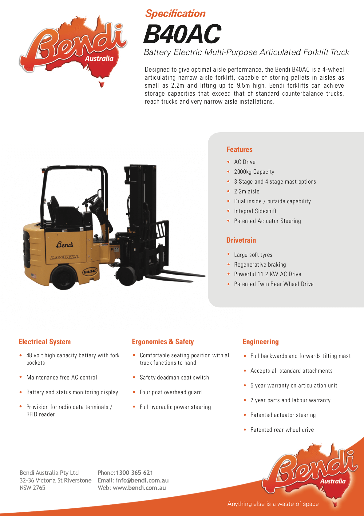 B40AC Forklift