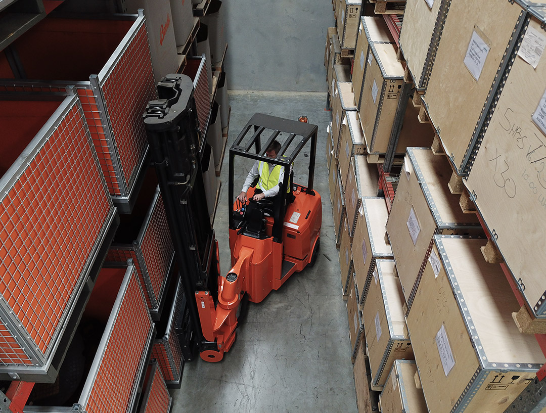 Narrow Aisle Forklift Hire, Articulated Forklift Hire