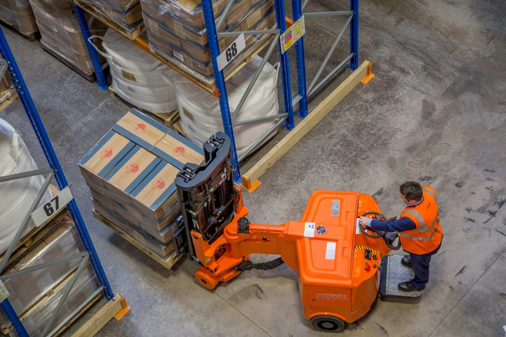 Mini Bendi Narrow Aisle High Reach Forklifts