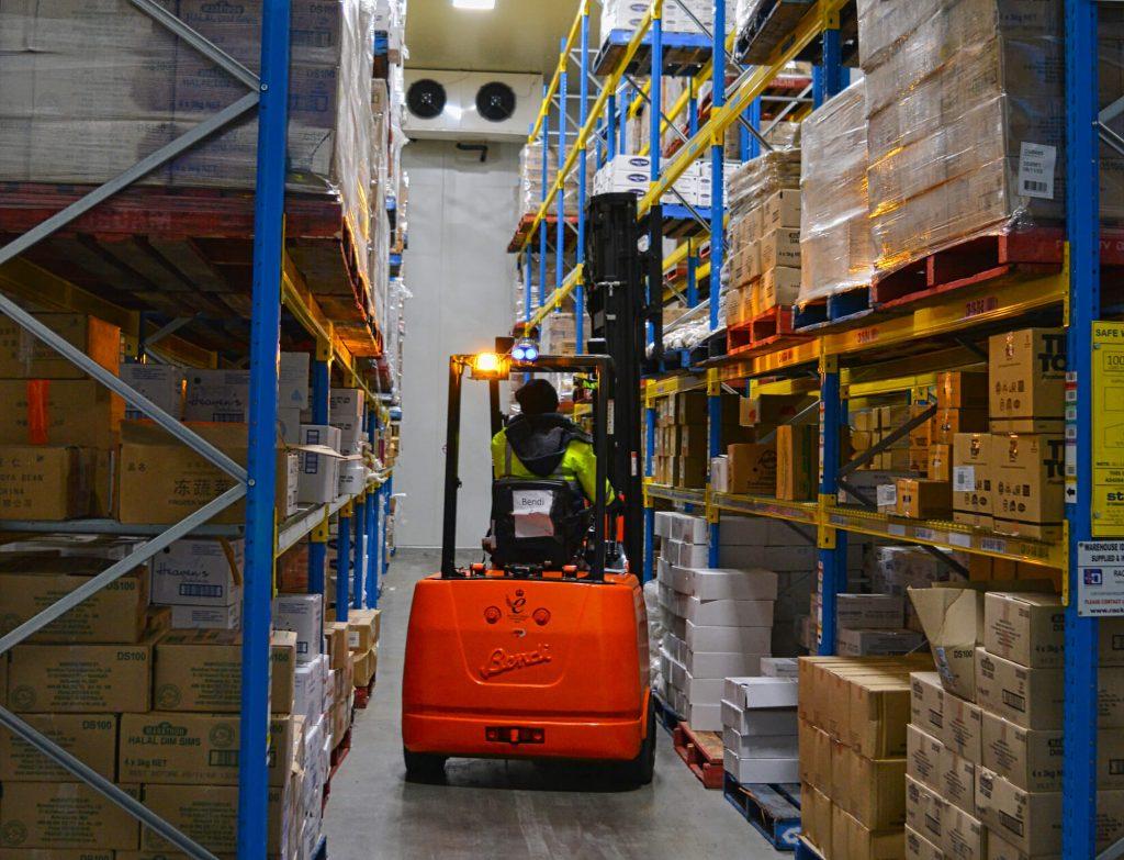 Coldstore Forklift from Bendi Australia